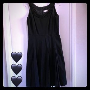 Simple Black Calvin Klein Dress